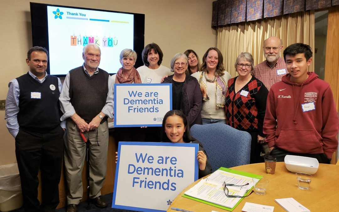 Dementia Friends Information Session at LiveWell Oct. 2019